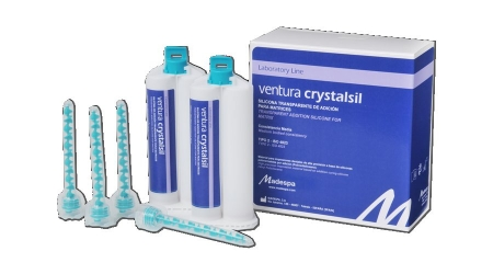 SILCIONA TRANSPARENTE PARA MATRICES DENTALES VENTURA TRANSPARENT SILICONE FOR MASKS