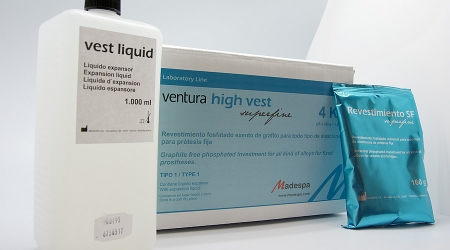 REVESTIMIENTO SUPER FINO PARA PROTESIS FIJAS VENTURA SUPER FINE DENTAL INVESTMENT