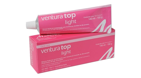 Ventura top light.Silicona por condensación para impresiones