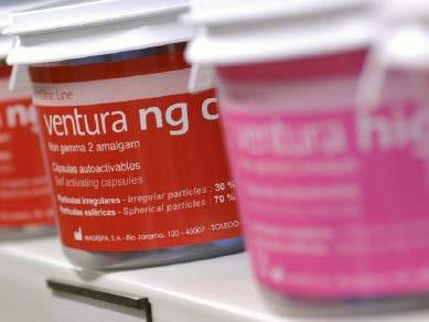 Amalgamas dentales, Ventura, fabricante y distribuidor