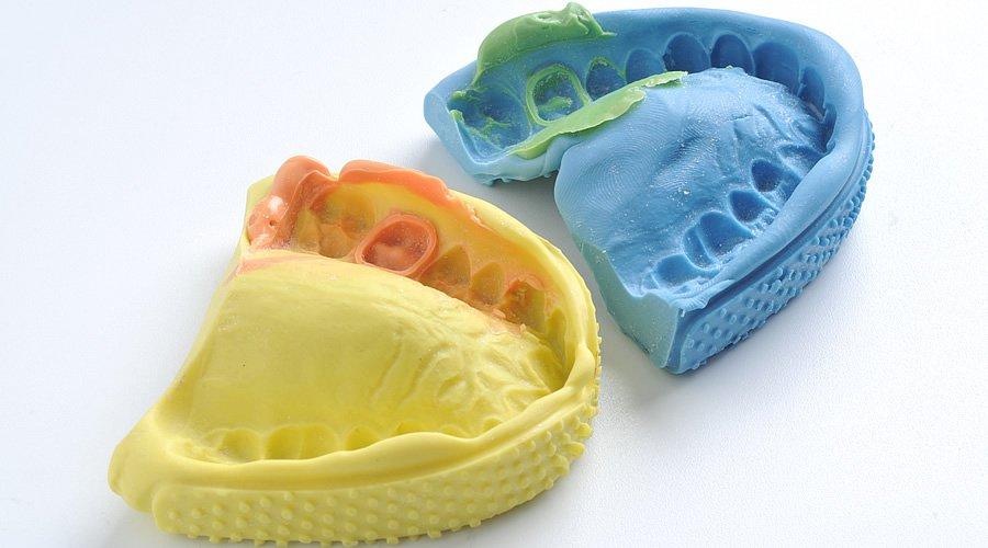 Siliconas dentales para adicción
